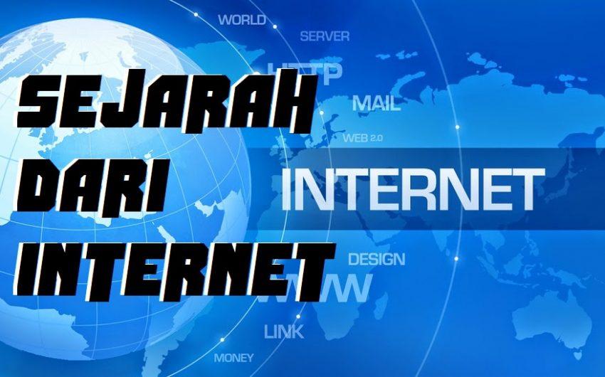 SEJARAH DARI INTERNET